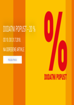 Intersport - Dodatni popust -20%