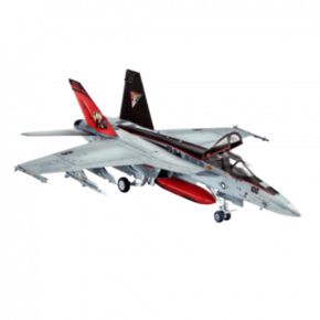 REVELL Model Set F/A-18E Super Hornet 1:144 - 63997 -