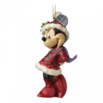 JIM SHORE Minnie Mouse Sugar Coated Hanging Ornament Figure - A28240