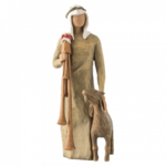 WILLOW TREE Zampognaro Shepherd with bagpipe - 27183