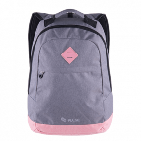 PULSE ranac za laptop BICOLOR GRAY-PINK (Sivi/Roze) - 121397
