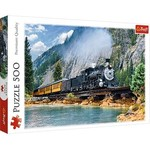 Puzzle 500 Mountain train