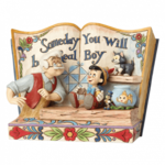 JIM SHORE Someday You Will Be A Real Boy Storybook Pinocchio - 4057957